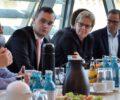 BED-Vorsitzende Christine Donner; Felix Wösner Referent von Erich Irlstorfer CSU; Maria Klein-Schmeink B90-Grüne; Dr. Roy Kühne