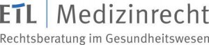 Logo_ETL_Medizinrecht_20140429_mit_Unterzugkomp.